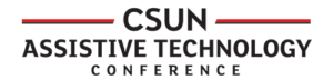 CSUN Assistive Technology Conference, logo